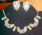 Hollycraft earrings and necklace set