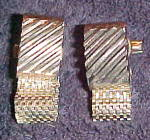 Click here to enlarge image and see more about item x6768: 1960s cufflinks