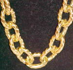 Click to view larger image of Goldtone link chain (Image2)