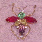 Corocraft Sterling Bug Pin