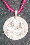 Click to view larger image of French coin pendant (Image2)