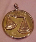Click to view larger image of Libra charm (Image1)