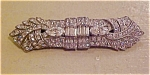Art deco clipmate with rhinestones