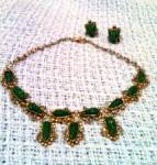 Mexican necklace and earring set