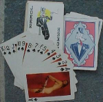Click here to enlarge image and see more about item z424: Art Studies nude playing cards