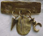 Egyptian Archaeological design pin