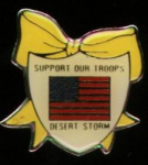 Click here to enlarge image and see more about item zq649: Desert Storm tie tack pin