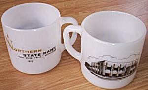 2 Northern St Bank Thief River Mugs (Image1)