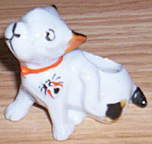 Antique French Bulldog Pin Cushion (Image1)