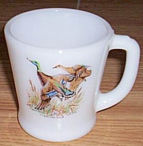 Fire King Mallard Duck Coffee Mug (Image1)