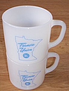 2 Advertising Federal Mugs Farmers Union (Image1)