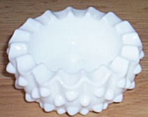 Fenton Hobnail Small Round Ashtray