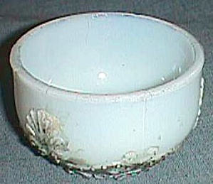 Antique Dithridge Small Bowl Fan And Scroll Pattern
