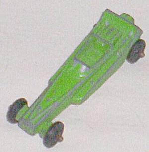 Vintage Die Cast Tootsie Toy Dragster (Image1)