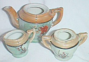 Miniature Lusterware Tea Set (Image1)