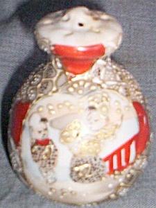 Single Antique Porcelain Shaker Oriental Design (Image1)