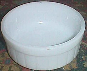 Vintage Round Federal Refrigerator Container No Lid