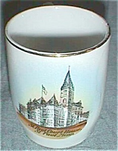 Old Souvenir Cup St. Paul Court House Minnesota Germany (Image1)