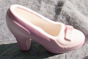 Vintage Pottery Shoe Lavender (Image1)