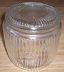 Anchor Hocking Cookie/Bisque Jar (Image1)