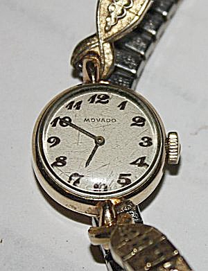 Vintage Ladies Movado Wrist Watch (Image1)