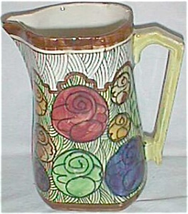 Art Deco Water Milk Pitcher Jug Spain (Image1)