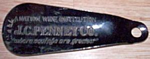 Vintage J.C. Penney Co. Shoe Horn (Image1)