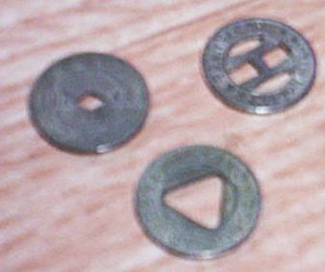 Lot of 3 Transit Tokens, Portland, Denver, Fargo (Image1)
