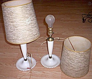Pair 50's Bed Lamps (Image1)