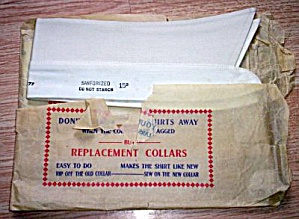 Pair Vintage Replacement Shirt Collars (Image1)