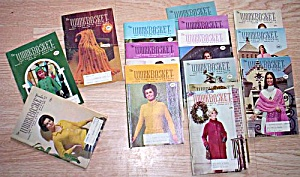 15 Vintage Workbasket Booklets 1966-1971