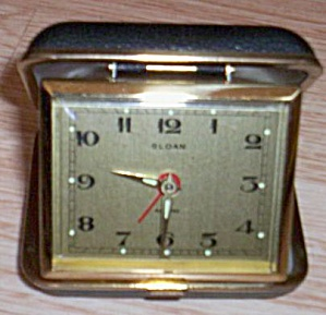 Vintage Sloan Travel Clock (Image1)