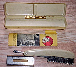 Vintage Durham Duplex Razor w/ Case Blades (Image1)