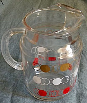 Retro 1960's Juice Pitcher (Image1)