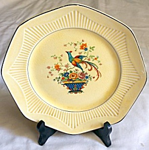 Bird of Paradise & Floral Plate (Image1)
