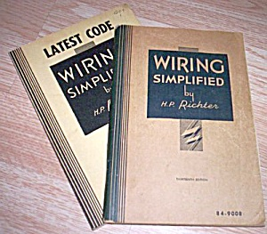 2 H.p. Richter Wiring Simplified, 1962 & 1940