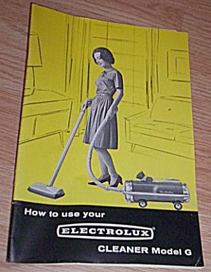 1964 Electrolux Vacuum Instruction Booklet