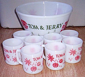 Fire King 9 Pc Tom and Jerry Set (Image1)