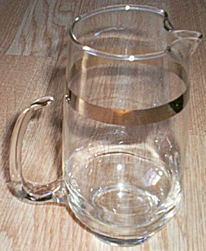 West Virginia Glass Small Pitcher