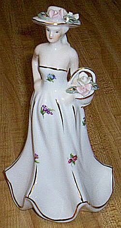 Porcelain Figurine Marked Kpm Free Shipping