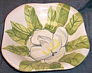 Red Wing Pottery Magnolia Coupe Soup Bowl (Image1)