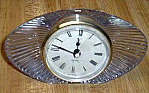 Mikasa Oval Crystal Clock (Image1)