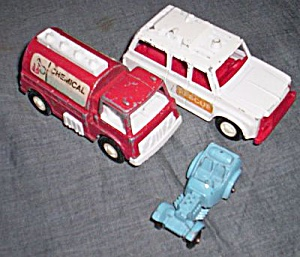 3 Tootsie Toy Trucks (Image1)