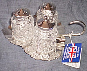 English Queen Anne Condiment Set (Image1)