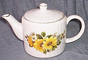 Ellgreave Teapot Sunflower #1180 (Image1)