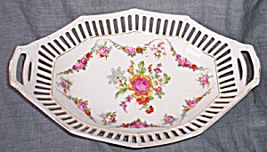 Antique Porcelain Pierced Rim Relish Germany (Image1)