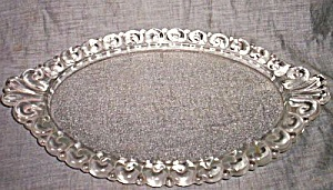 Vintage Glass Lady's Dresser Tray (Image1)