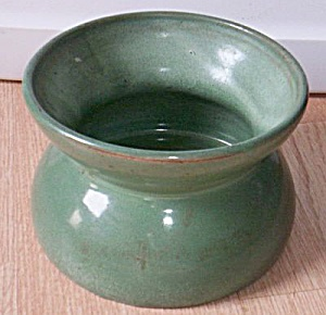 Antique Pottery Spittoon