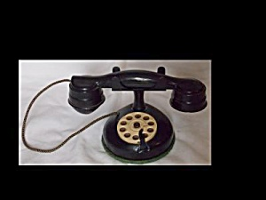 Vintage Metal Toy Telephone