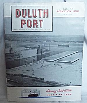 1959 Duluth Port Seaway Celebration Dedication Issue (Image1)